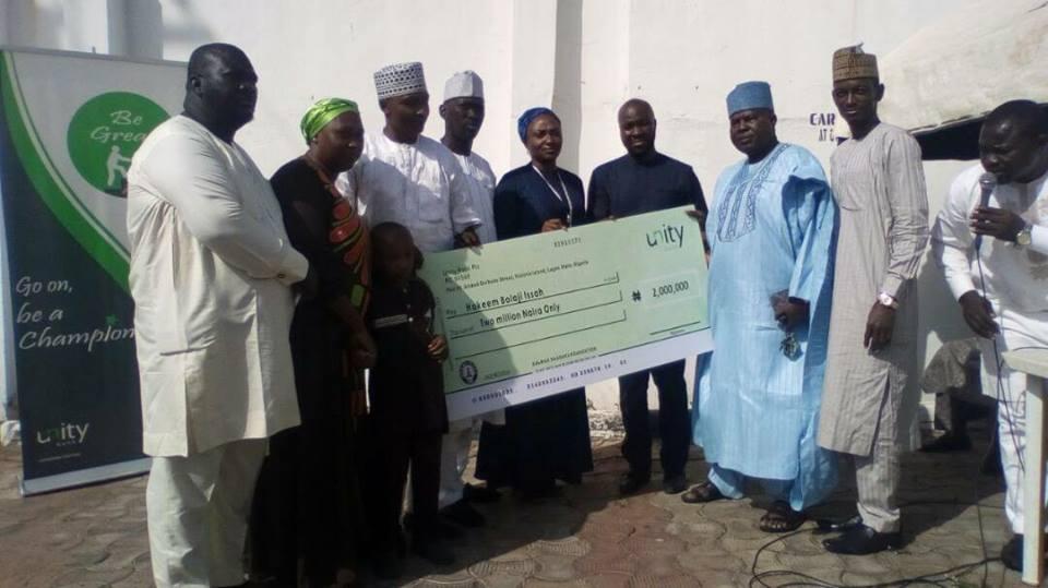 Salman Shagaya Foundation donates 2 million naira for the heart surgery of a six year old boy